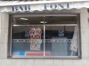 bar can font